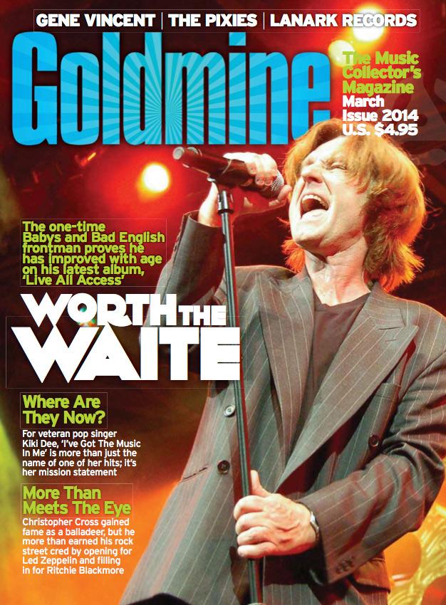 John Waite - Goldmine Magazine