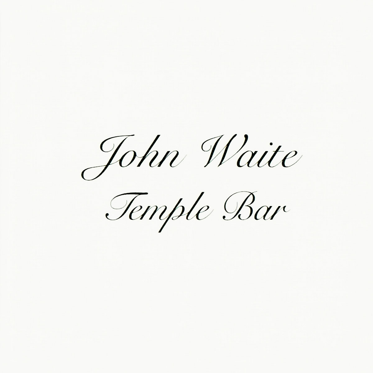 John Waite - Temple Bar